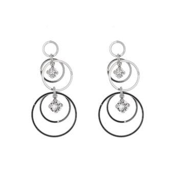 Cercei din argint 925 si cristale swarovski E1820972120 2