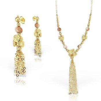 Set bijuterii din aur 18k Venus 7