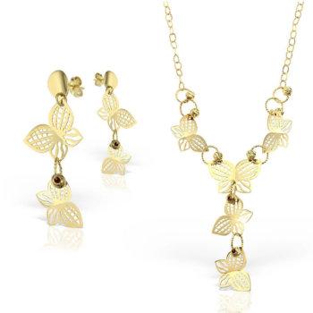 Set bijuterii din aur 18k Splendora