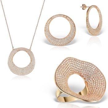 Set bijuterii din argint 925 Luce 11