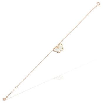 Bratara model fluture din aur roz de 18K BR1000PINK 10