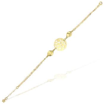 Bratara din aur galben de 18K BR5880 7