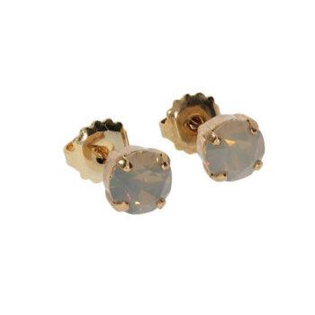 Cercei hand made antichizati placati cu aur de 24k ECCPLSW6 2