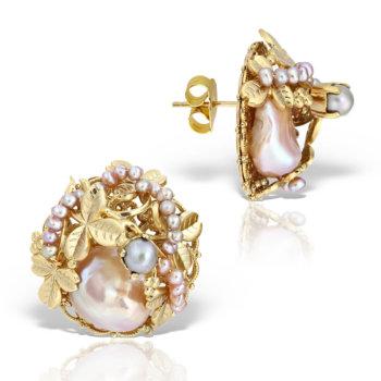 Cercei hand made accesorizati cu perle naturale MHOR262 9