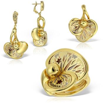 Set bijuterii din aur 14k Thalia 5