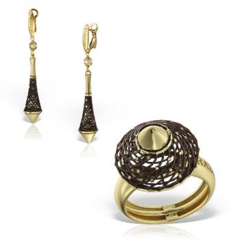 Set bijuterii aur 14K Emira 5
