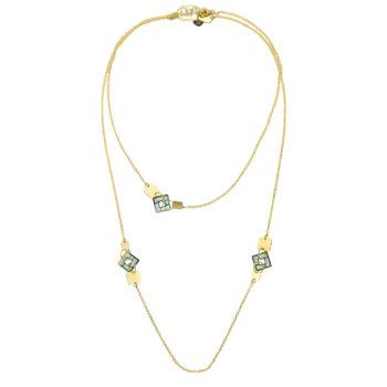 Colier din aur galben 14k GR6149 5