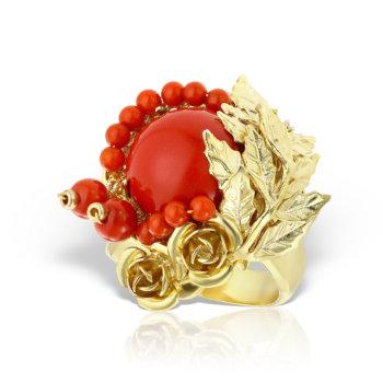 Inel handmade antichizat accesorizat cu pietre semipretioase AN03 6